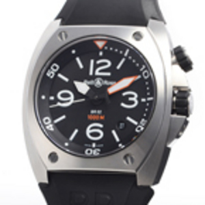 Replica Bell & Ross BR02-92 Stahl Automatic Herrenuhr
