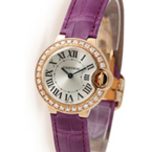 Replica Cartier Ballon Bleu Diamonds dameshorloge WE900251