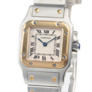 Replica Cartier Santos Galbee Steel Ladies Kellot W20012C4