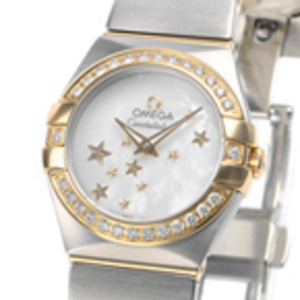Replica Omega Constellation Mini Diamonds 123.25.24.60.05.001