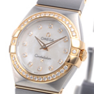 Replica Omega Constellation Mini diamants 123.25.27.60.55.00