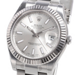 Bar argento Replica Datejust II Quadrante 116334SBO