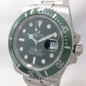 Replica Submariner Oyster Perpetual Date Grøn Watch 116610LV